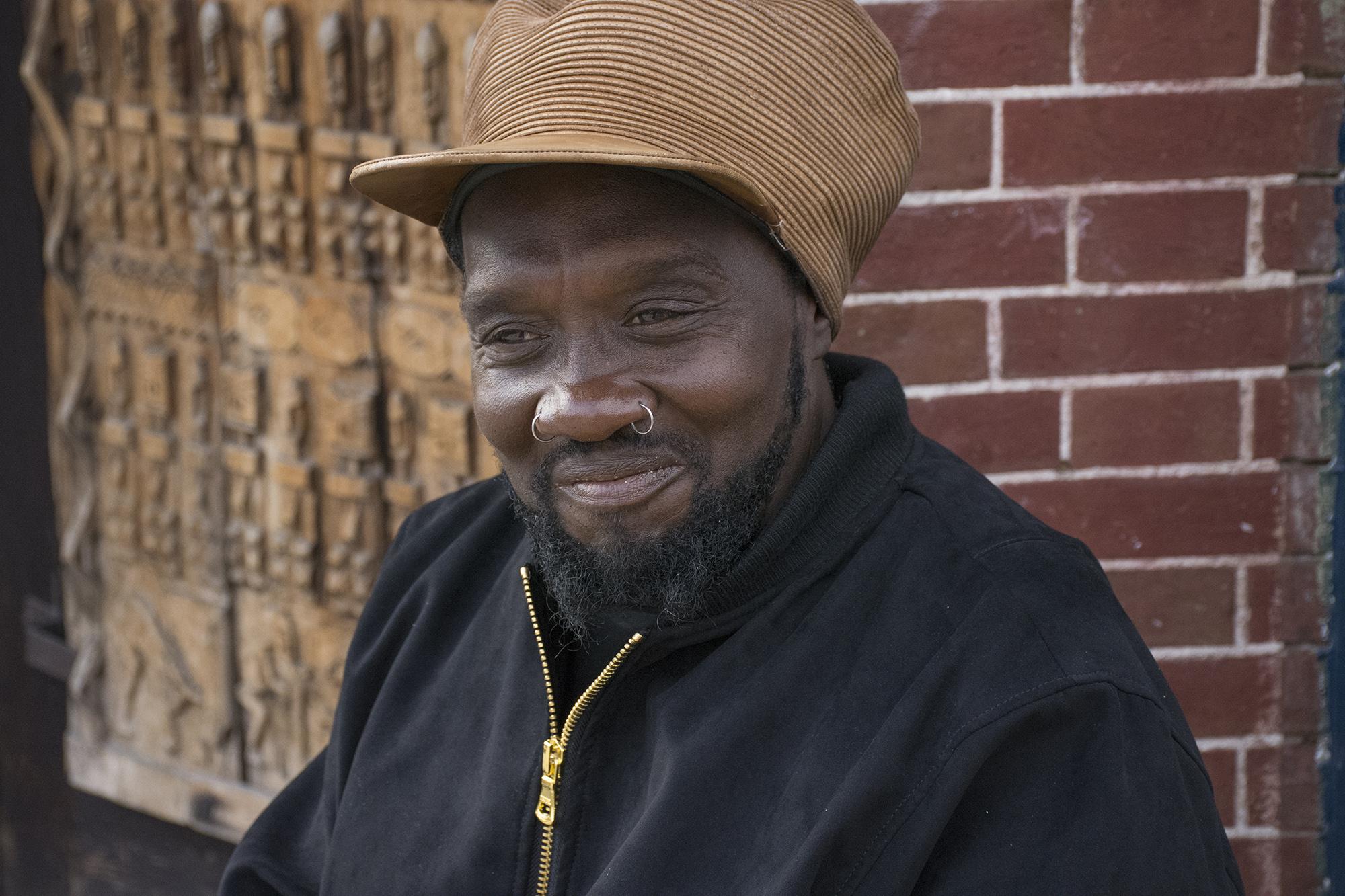 In the Hollins Market Neighborhood, Robert Williams is known as African Robert.