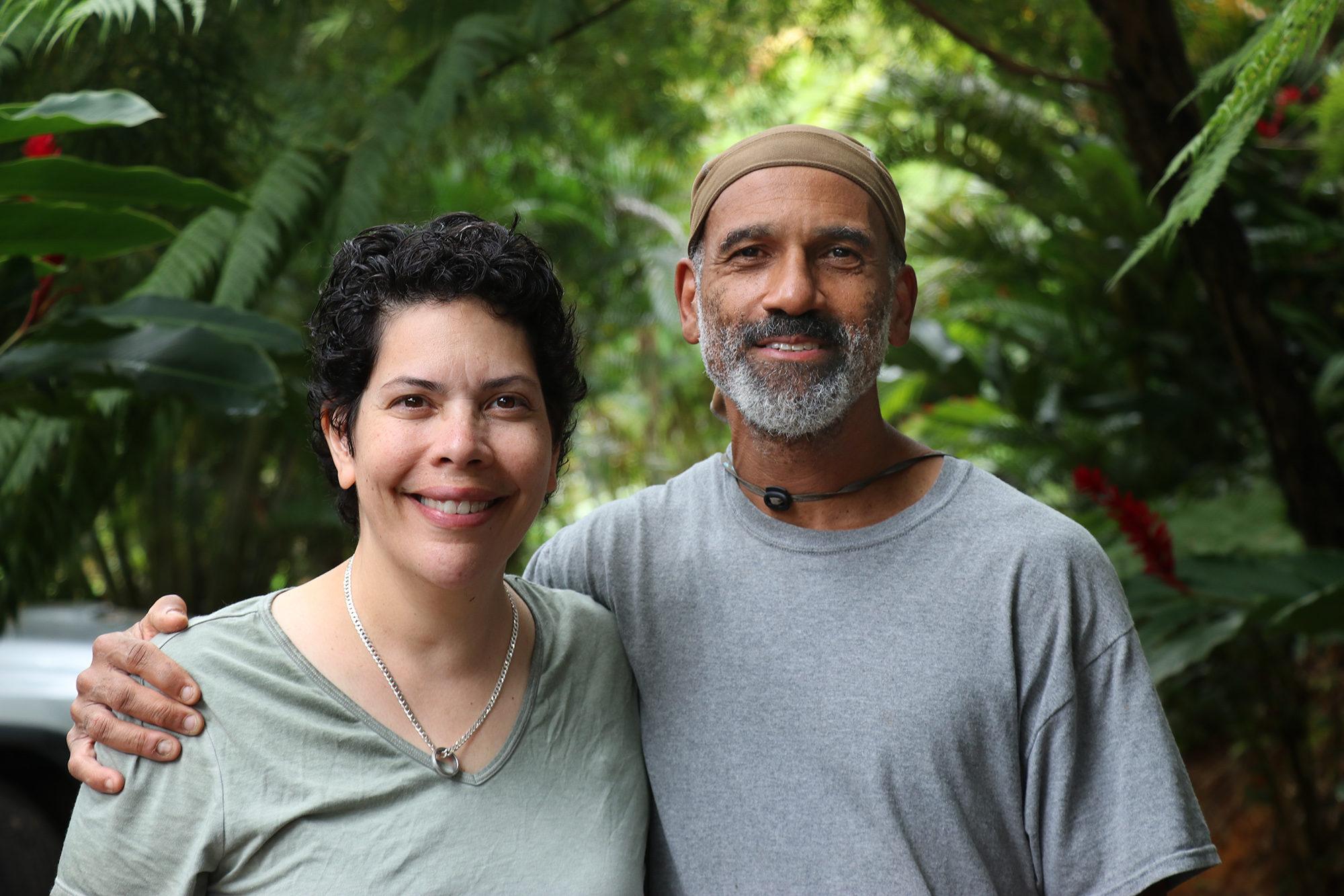 Sarah and Paul Ratliff at Mayani Farms. Photo by Tina Locurto